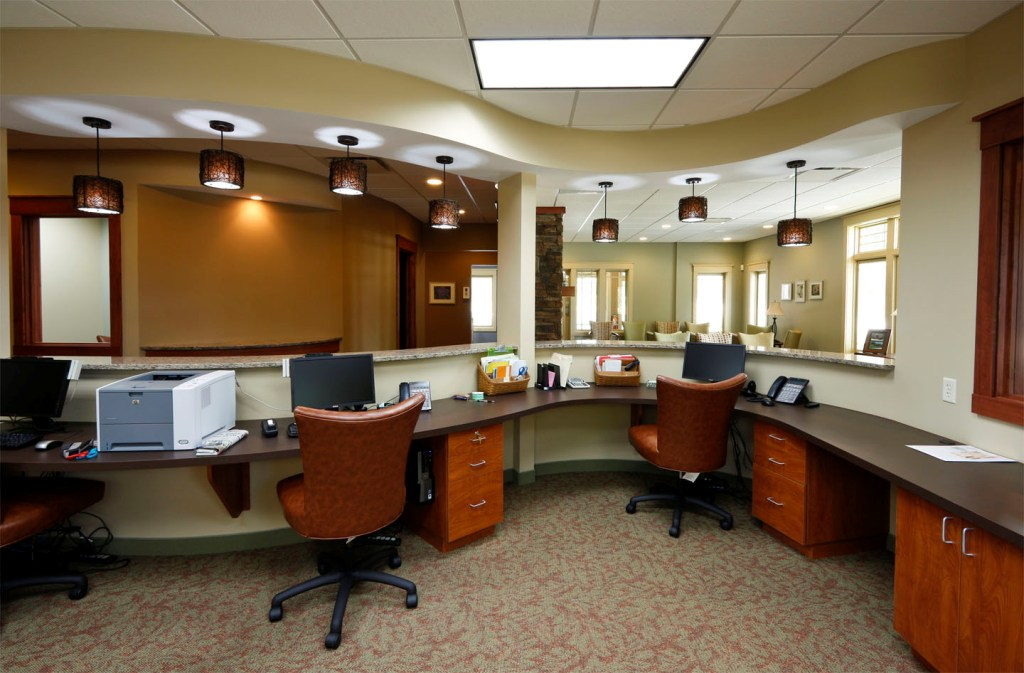 Image of: Small Office Designs Wall Shelving
