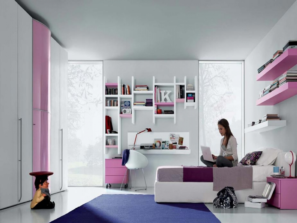 Image of: Awesome Girl Bedrooms Design