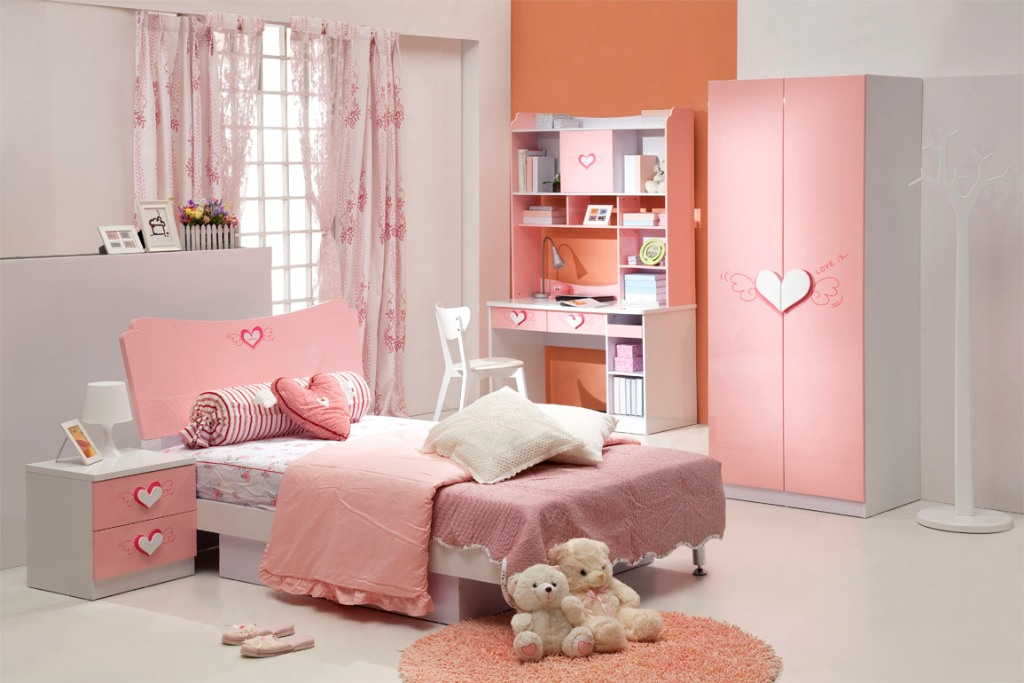 Image of: Awesome Teen Girl Bedrooms With Loft