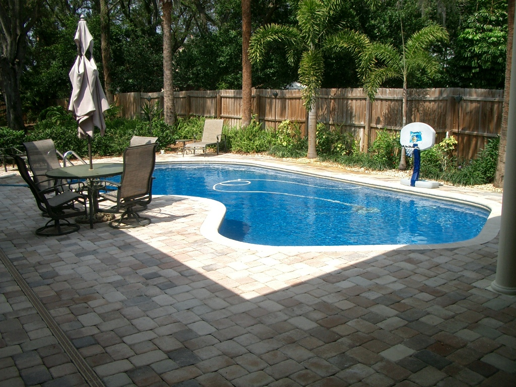 Image of: Backyard Swimming Pools