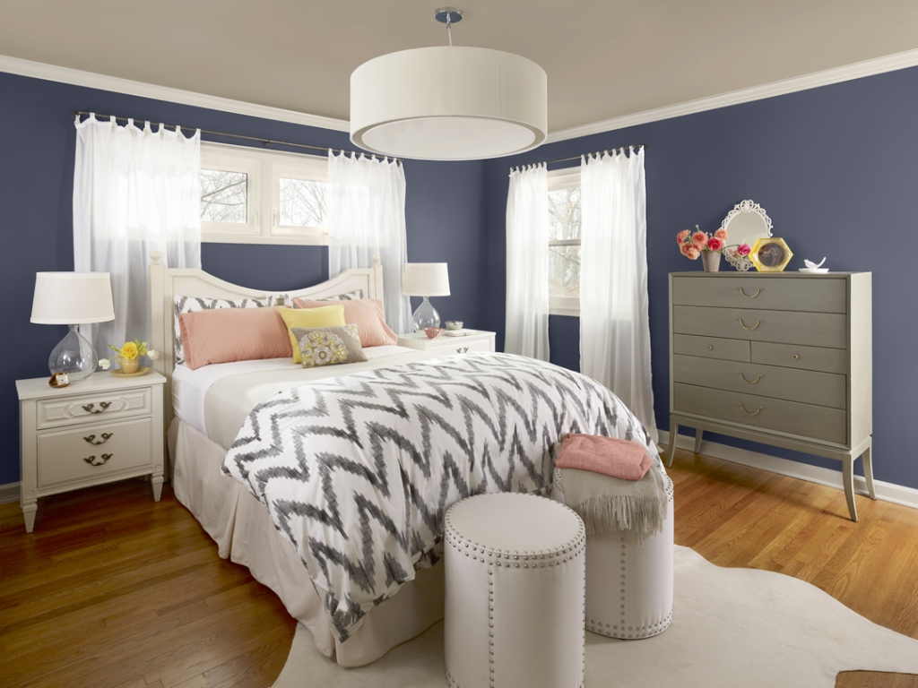 Image of: Bedroom Color Ideas Blue