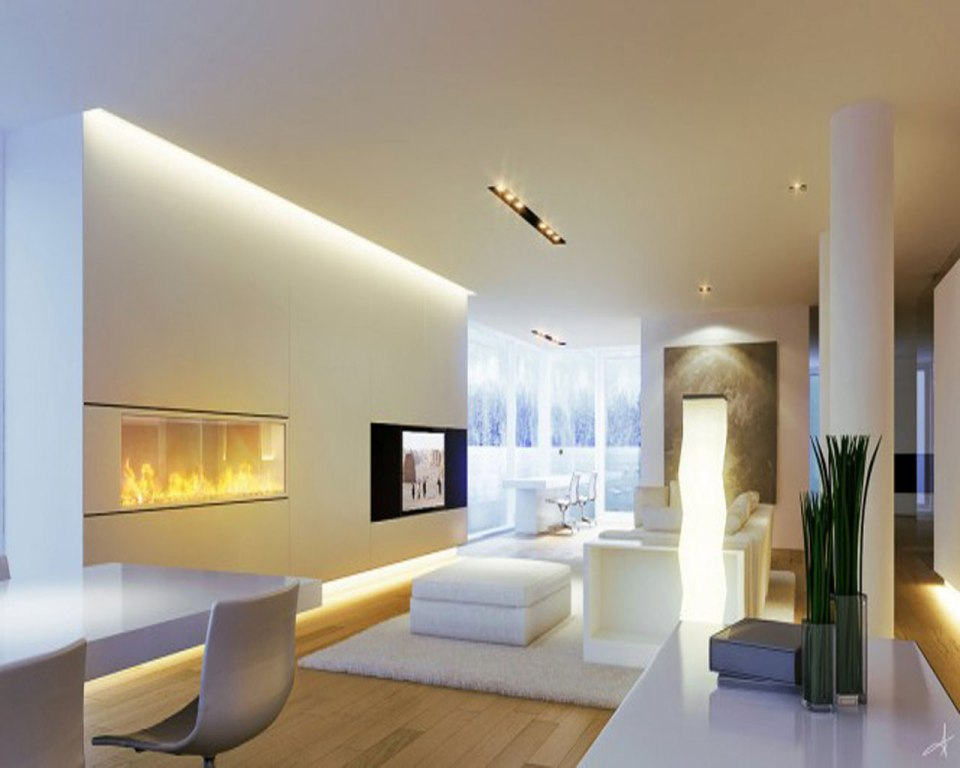 Image of: Best Living Room Lighting