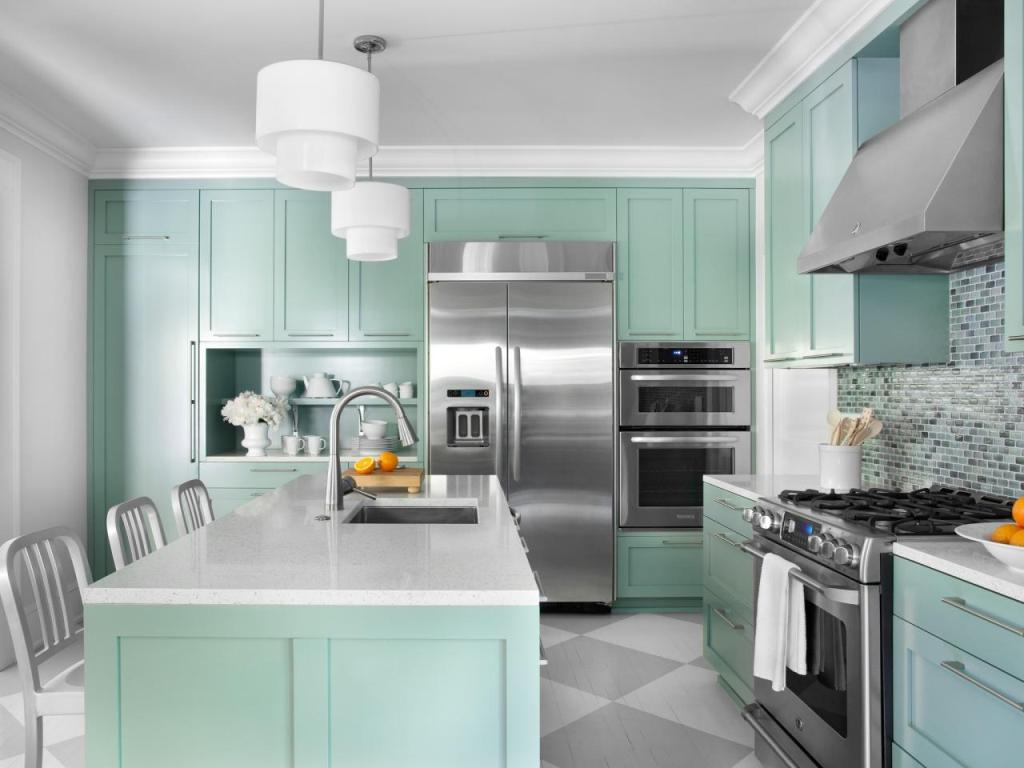 Image of: Contemporary Kitchen Colors Ideas