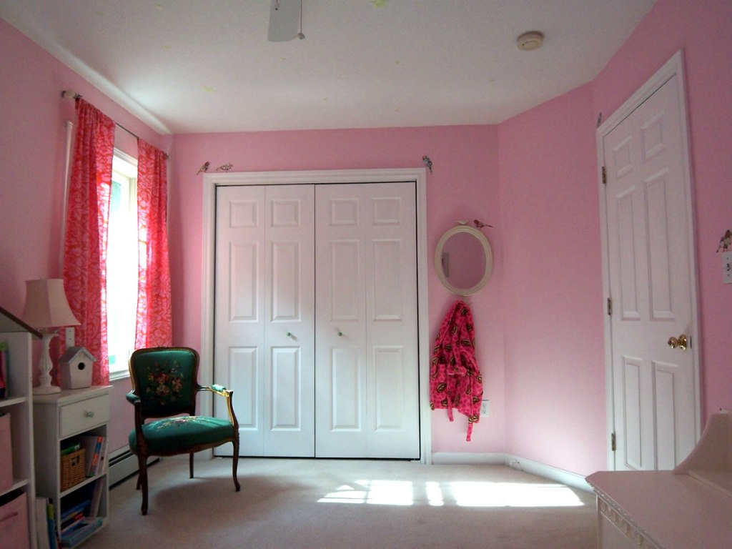 Image of: Decorations For Girls Room Images Pink