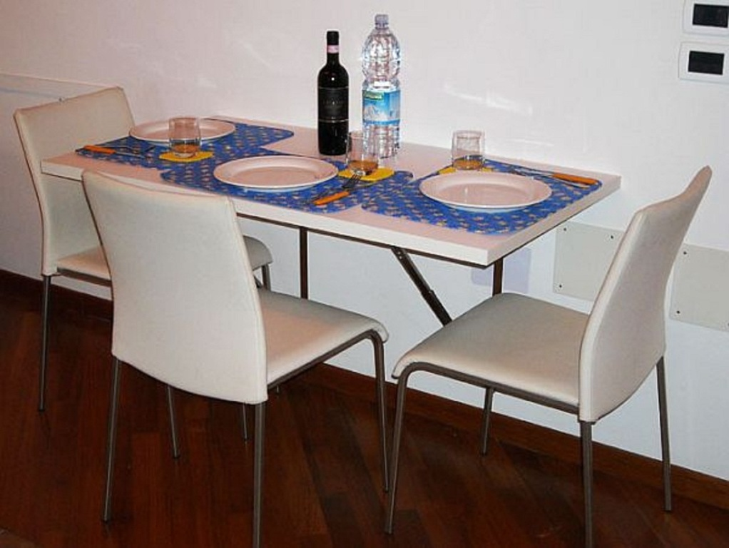 Image of: Dining Table Wall Mounted