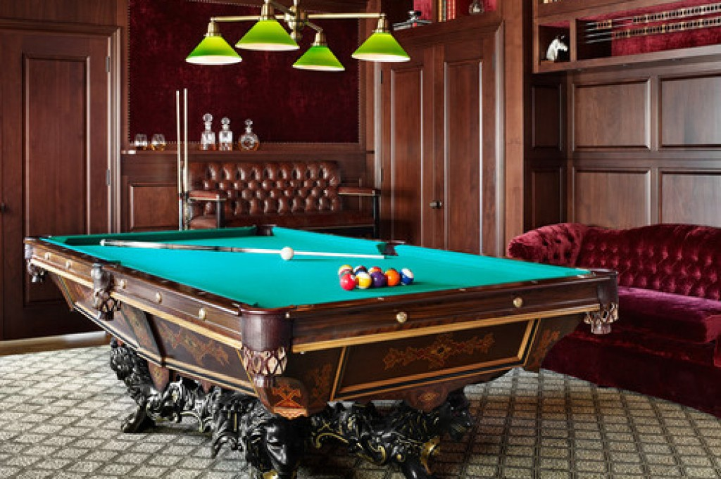 Image of: Discount Billiard Room Decor