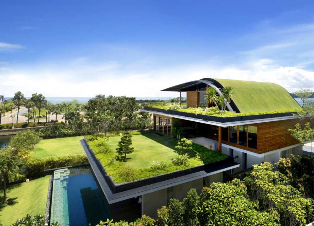 Image of: Eco Friendly House Plans