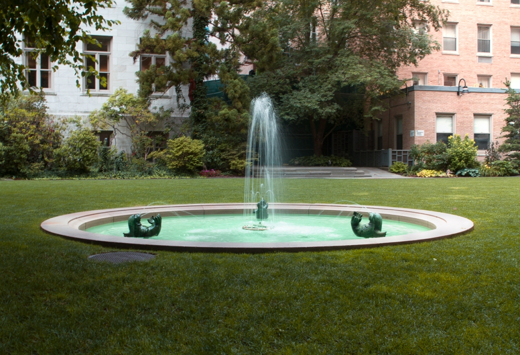 Image of: Fountain In The Greens
