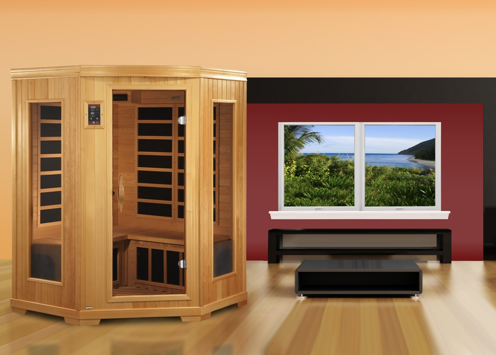 Image of: Golden Designs Inc Infrared Sauna
