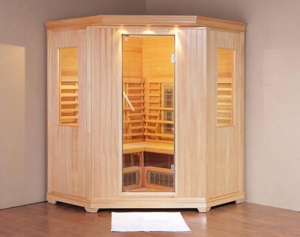 Image of: Golden Designs Paris Infrared Sauna