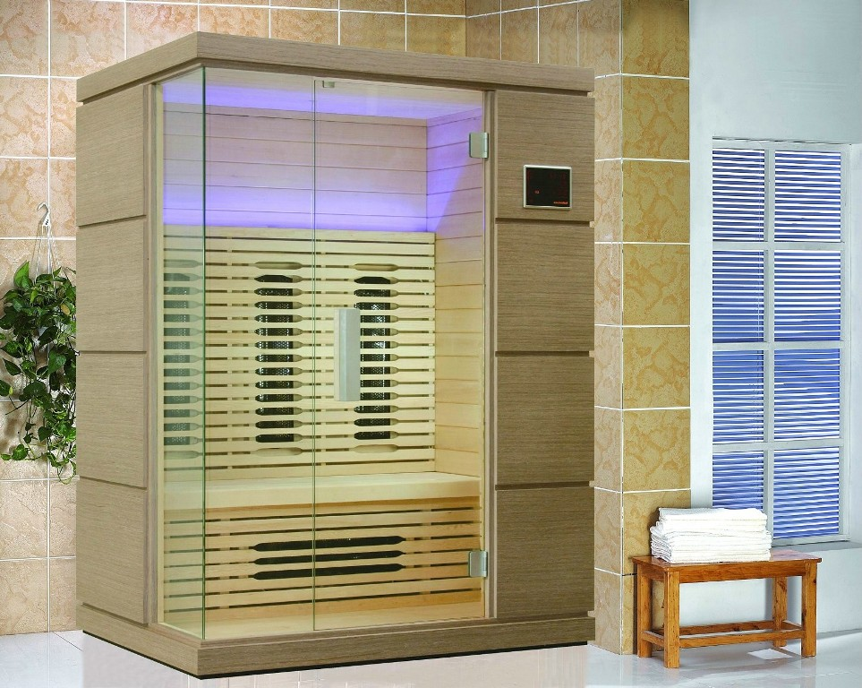 Image of: Golden Designs Versailles Infrared Sauna