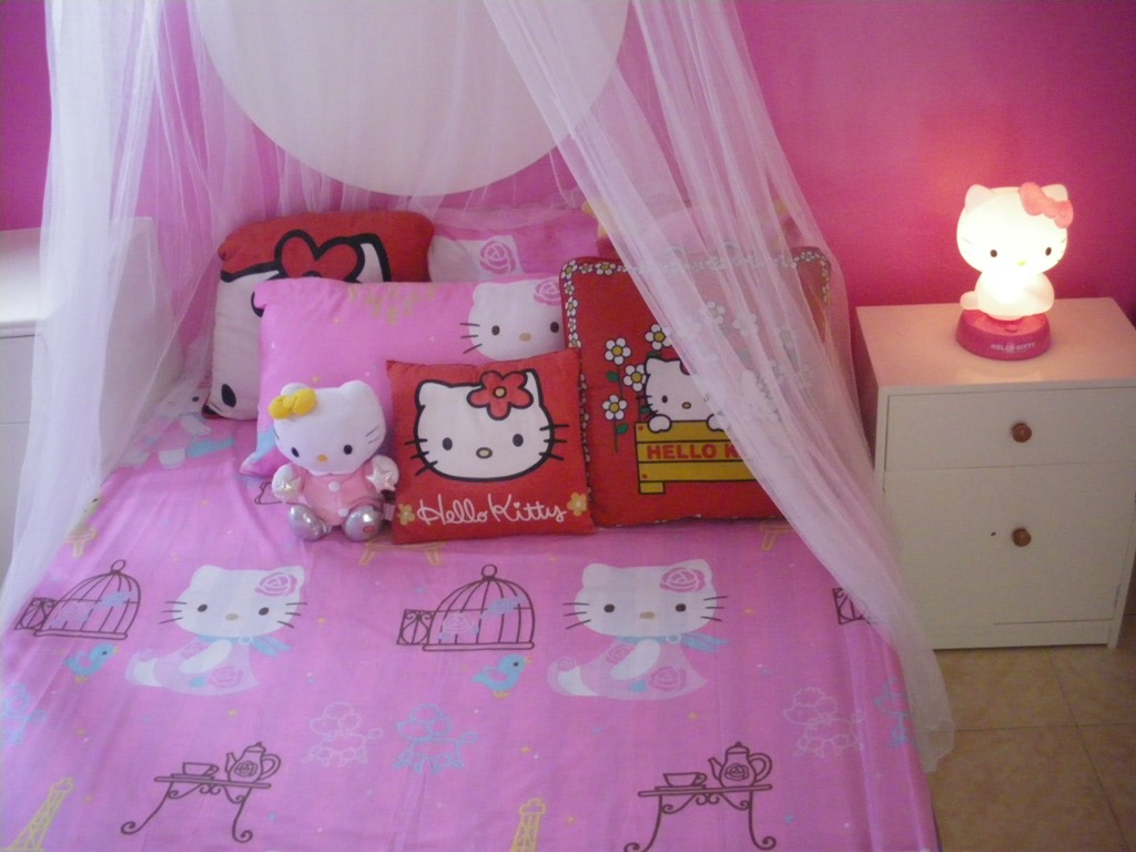 Image of: Hello Kitty Room Decor