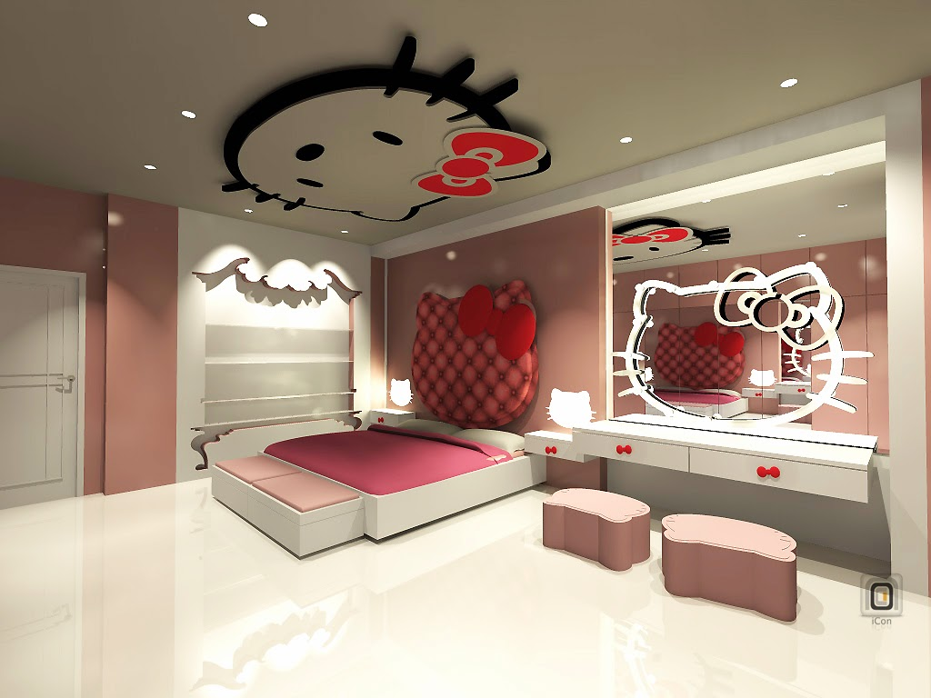 Image of: Best Hello Kitty Room Ideas