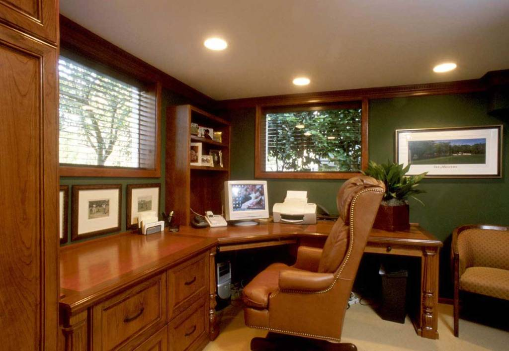 Image of: Home Office Designs For Small Spaces