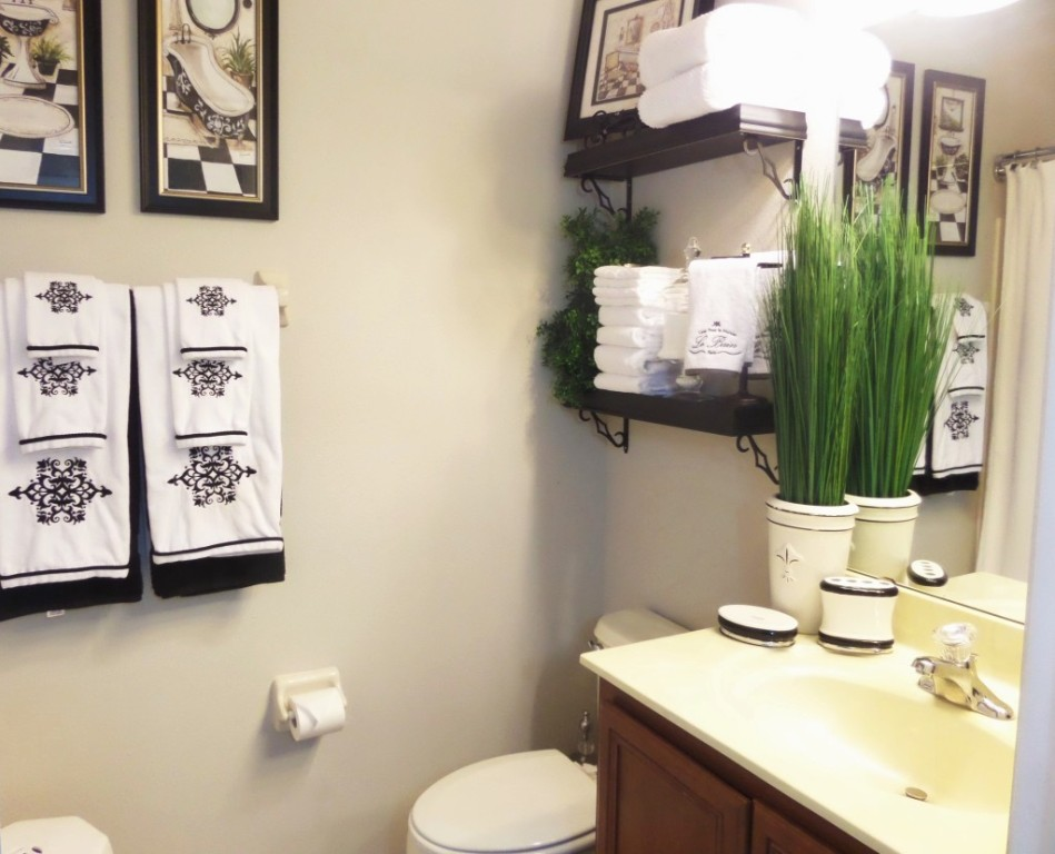 Image of: How To Decorate A Bathroom Cheap