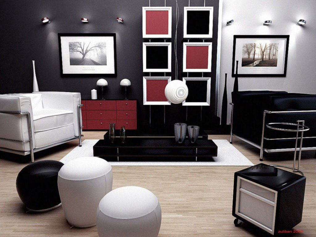 Image of: How To Decorate Living Room Walls