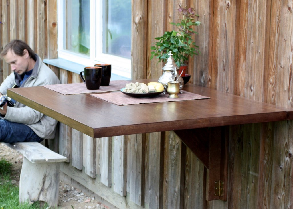 Image of: Large Wall Mounted Dining Tables