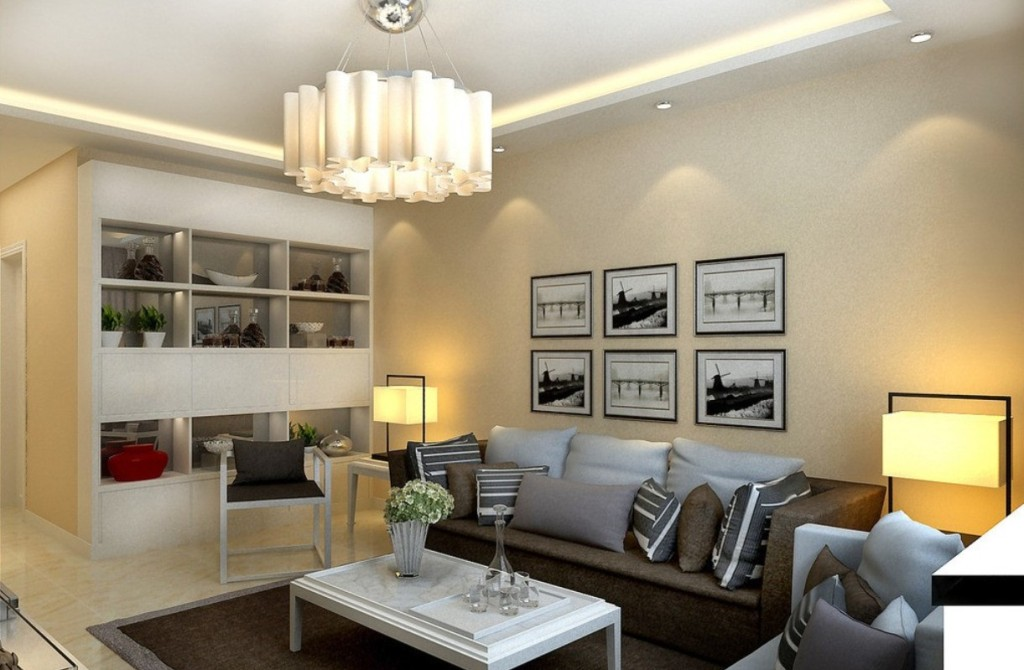 Image of: Living Room Lighting