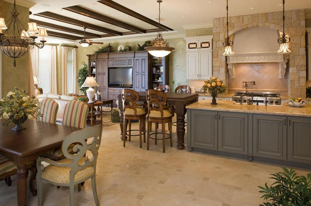 Image of: Mediterranean Style Kitchen Pictures