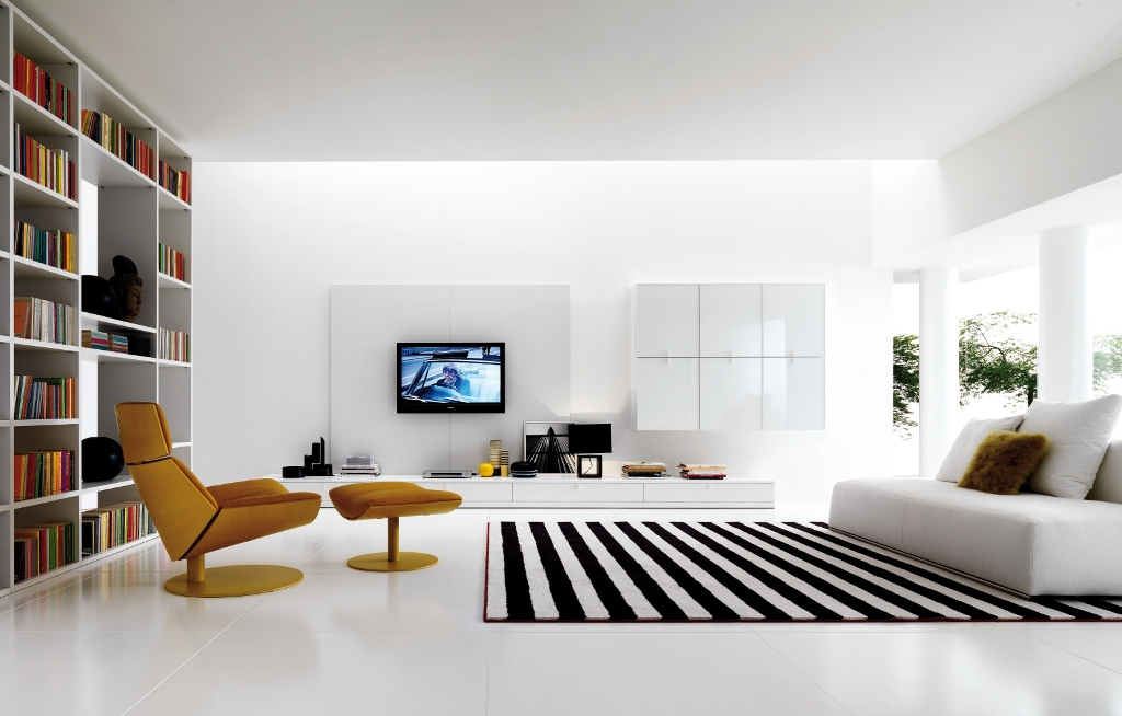 Image of: Minimalist Living Room Decorating Ideas