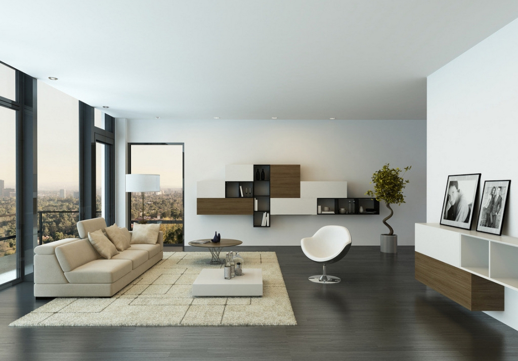 Image of: Minimalist Living Room Decorating