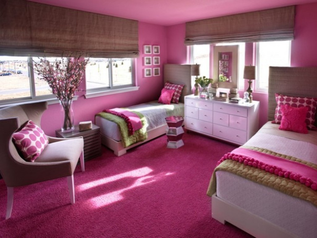 Image of: Modern Boy Girl Twin Room Ideas