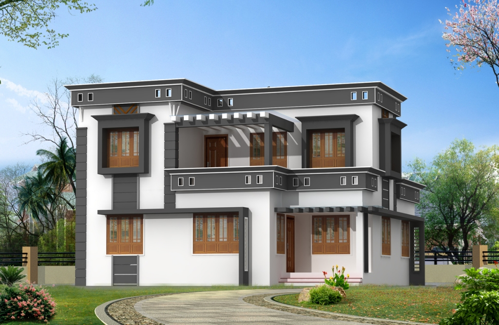 Image of: Elegant And Modern House Plans With Pictures