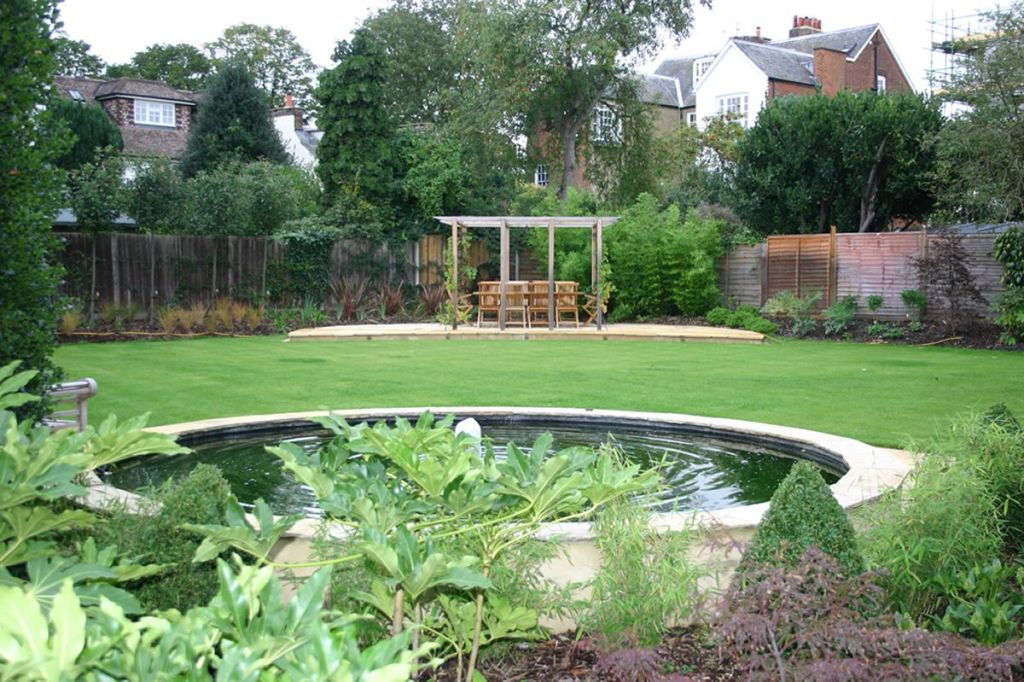 Image of: Modern Natural Garden Design