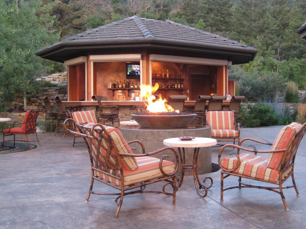 Image of: Outdoor Living Room Sets