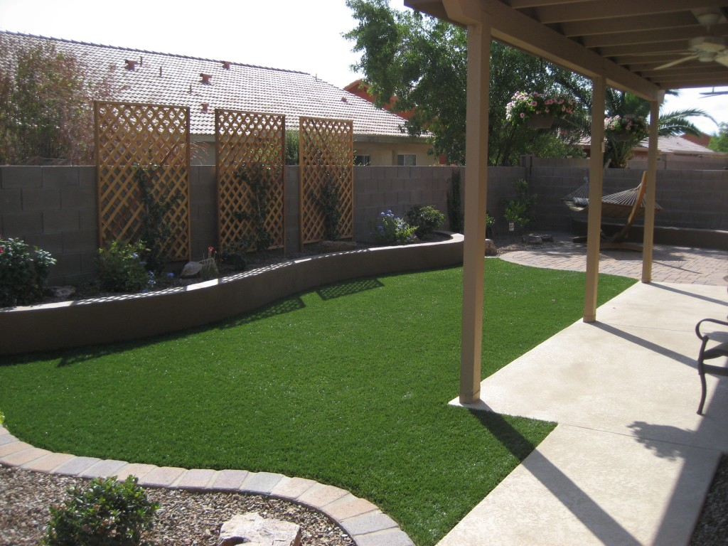 Image of: Small Backyard Ideas No Grass
