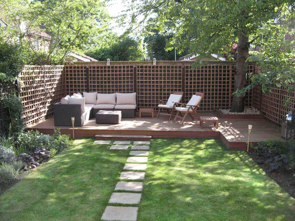 Image of: Small Backyard Ideas Without Grass