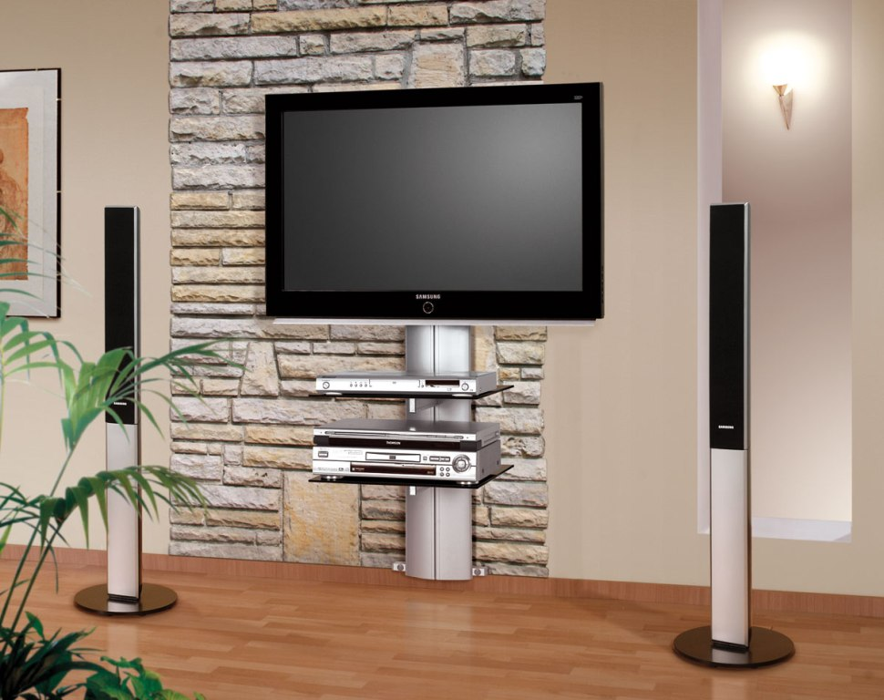 Image of: Tv Cabinet Designs Wall Mount