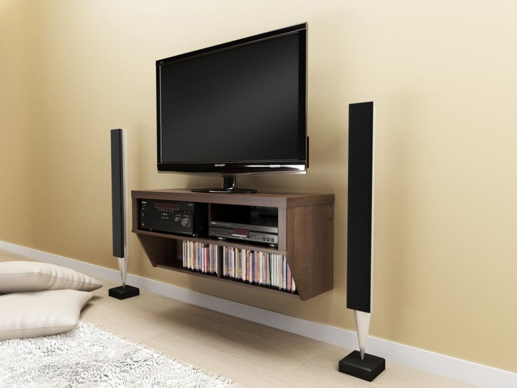Image of: Tv Wall Mount Design For Living Room