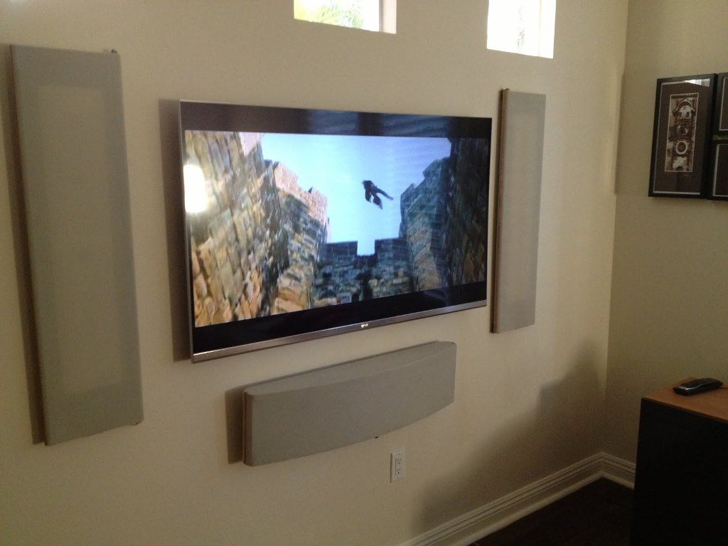 Image of: Tv Wall Mount Designs