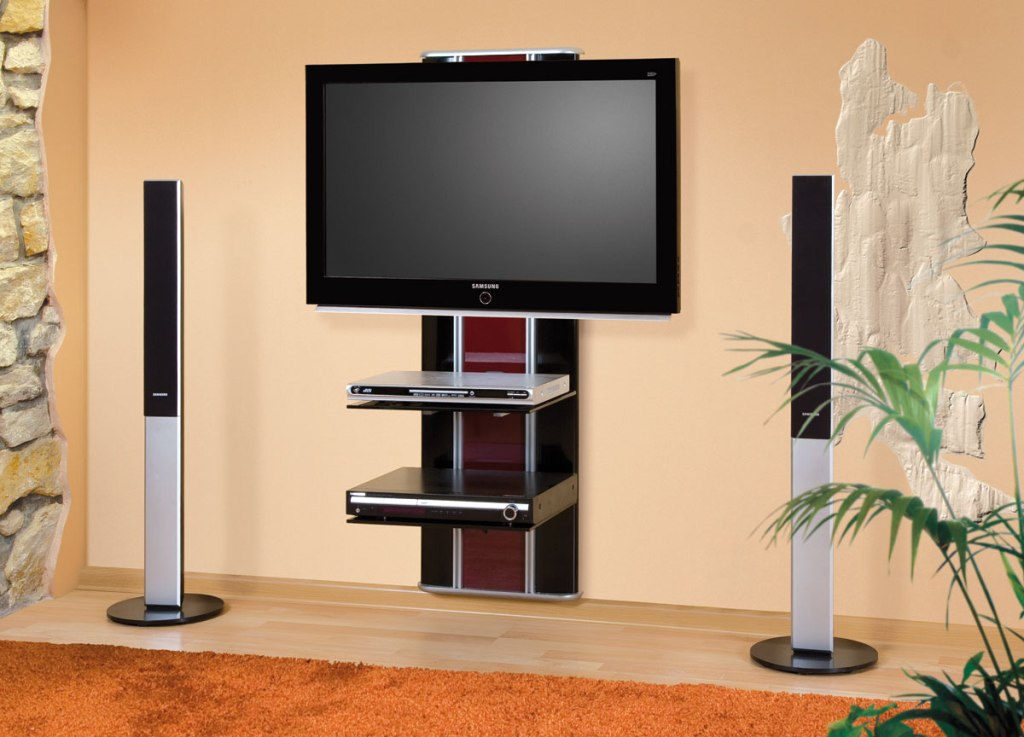 Image of: Wall Mount Designs For Tv