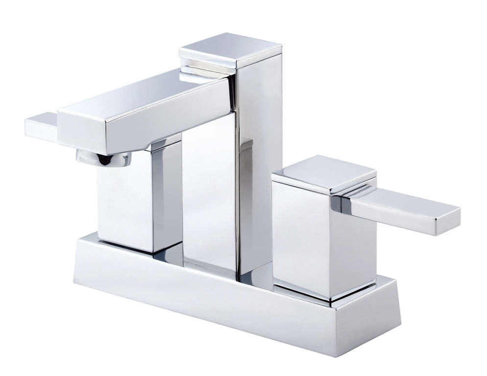 Image of: Chrome Bathroom Faucet Single Hole