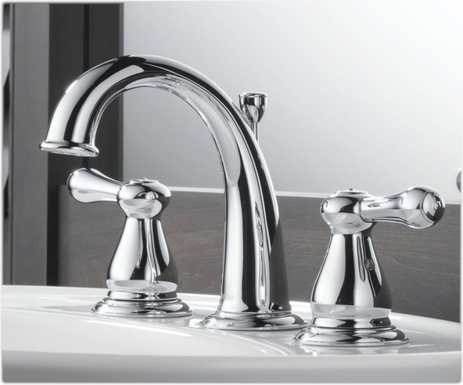 Image of: Chrome Bathroom Faucets