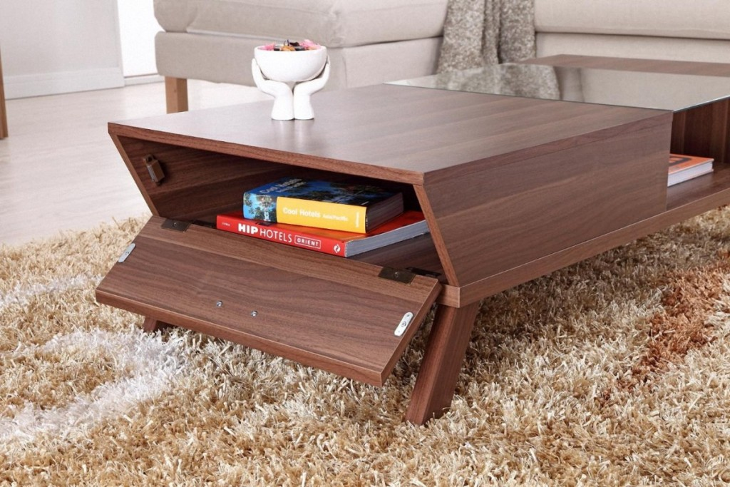 Image of: Contemporary Coffee Tables For Small Spaces