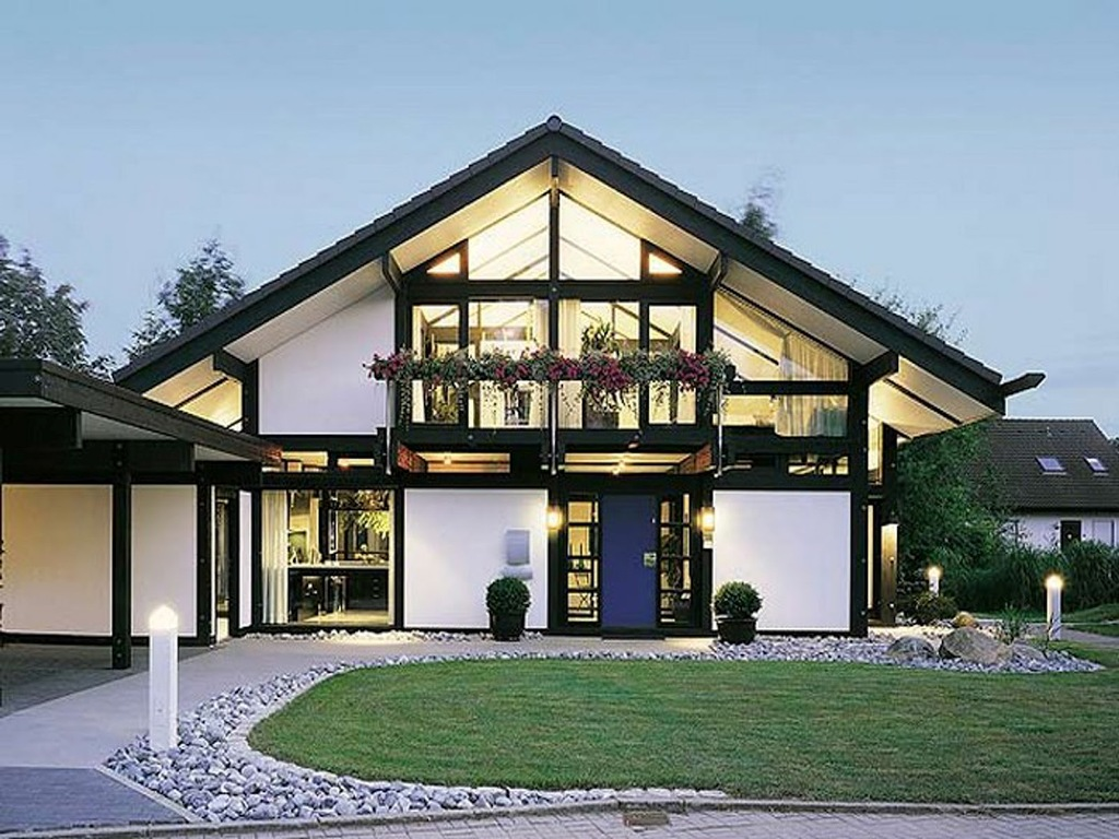 Image of: Contemporary House Architecture Design