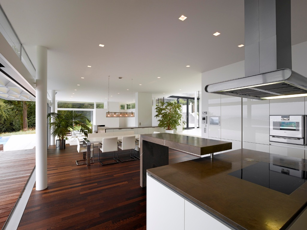 Image of: Contemporary Kitchen Designs With Islands