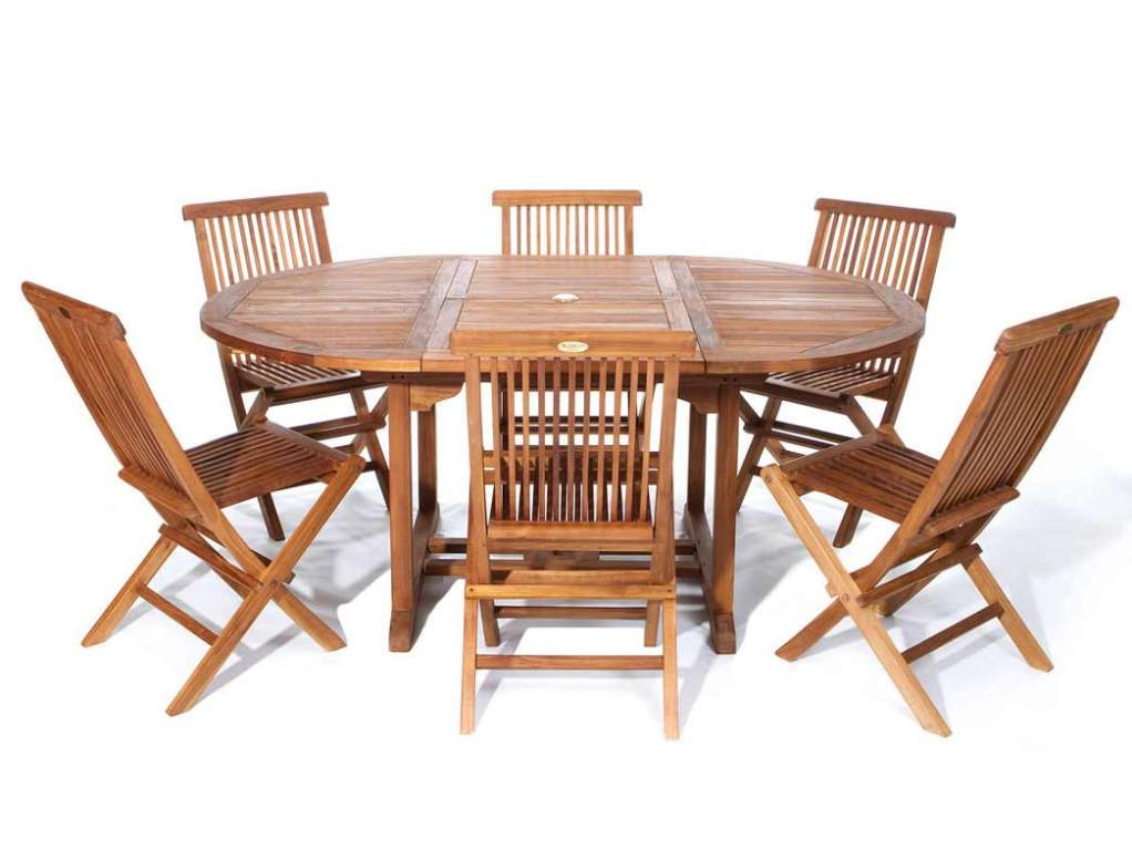 Image of: Folding Dining Room Sets
