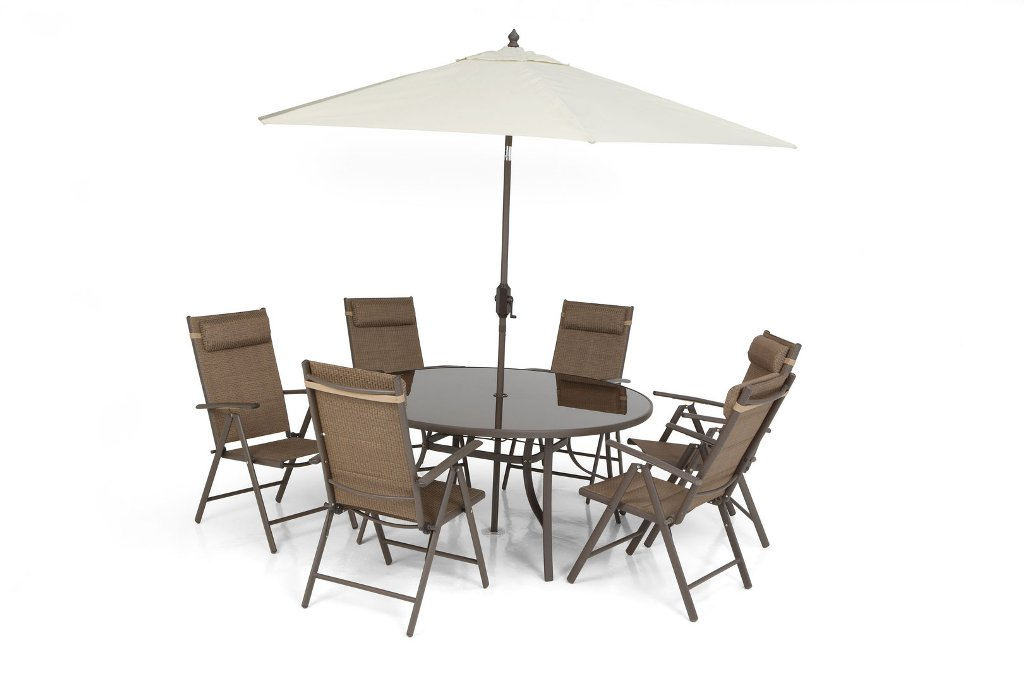 Image of: Folding Dining Set