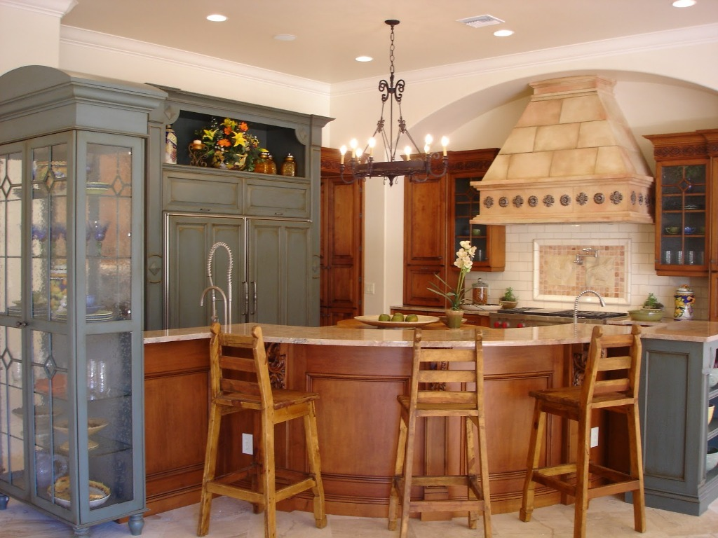Image of: French Country Kitchen Design Ideas