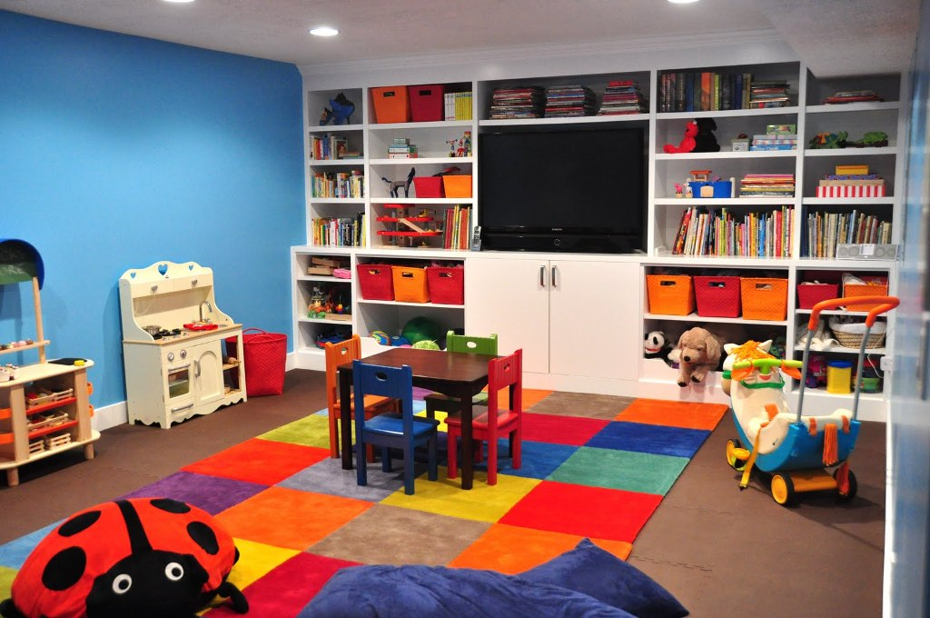 Image of: Furniture For Kids Playroom