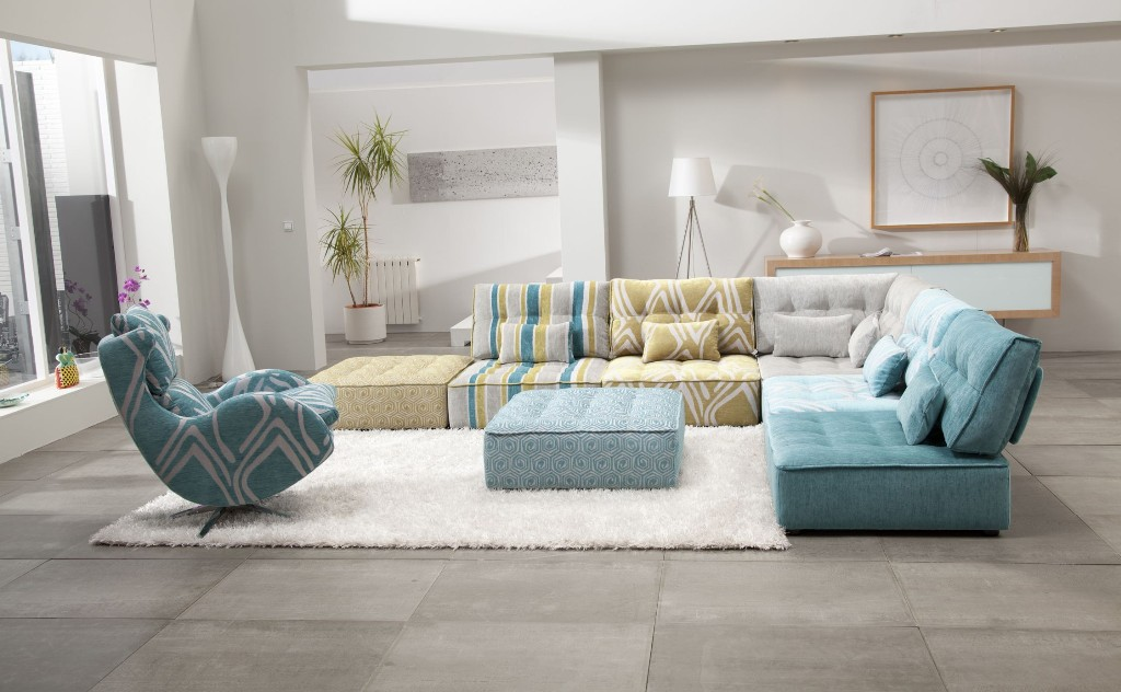 Image of: Modern Modular Sofa Sectional
