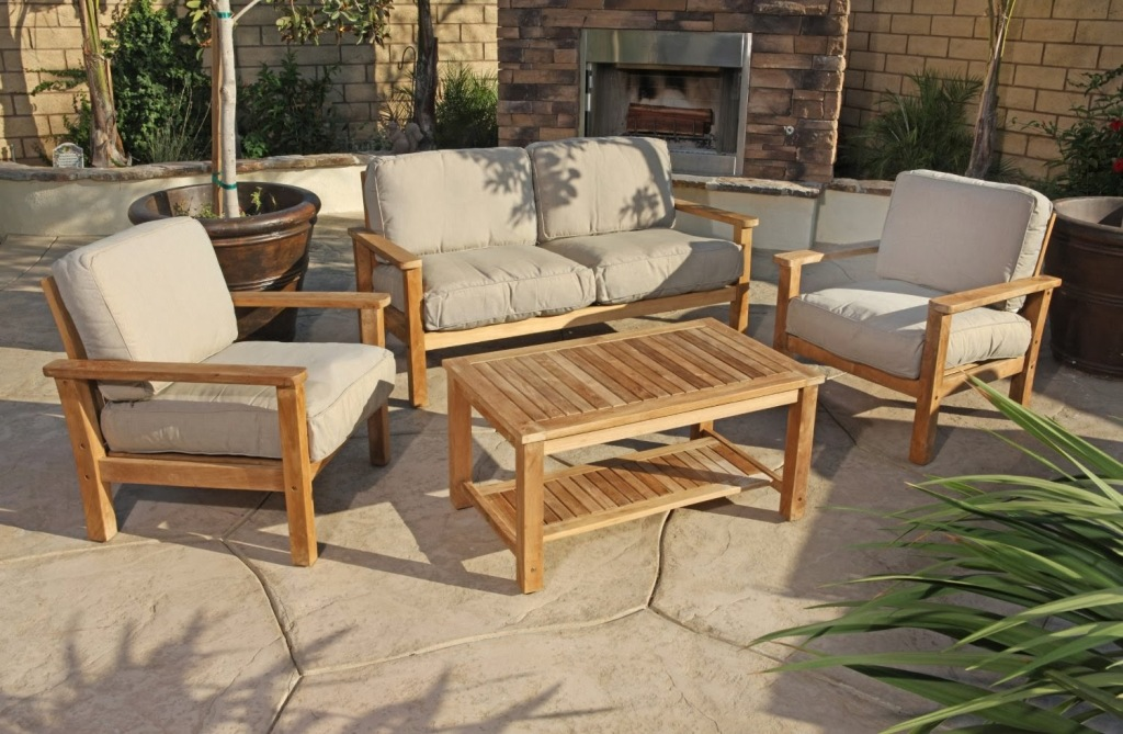 Image of: Outdoor Deep Seating Furniture