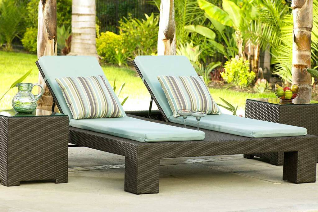 Image of: Outdoor Lounge Chair Covers
