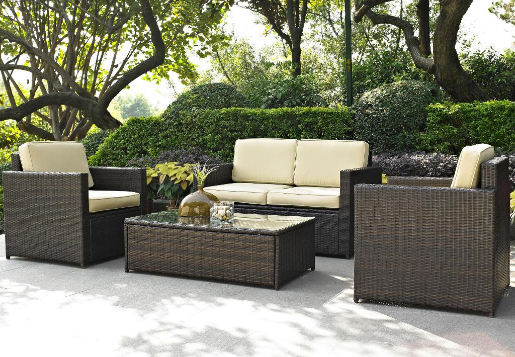 Image of: Outdoor Seating Furniture Sets