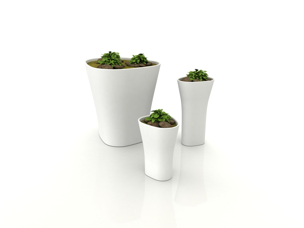 Image of: Plant Pots Indoor