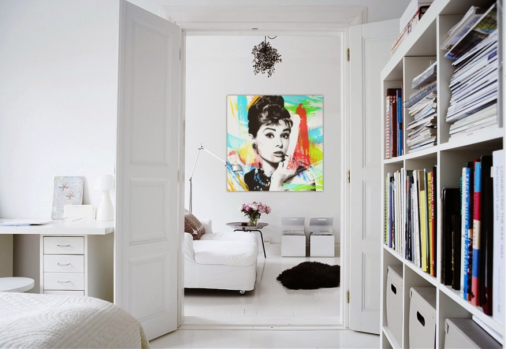 Image of: Pop Art Interior Design History